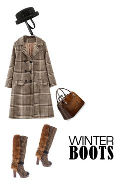 """""""#winterboots"""" by gershevicht on Polyvore featuring мода, Chanel и Aspinal of London"""