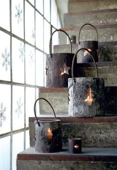 Indoors and outdoors Christmas lanterns
