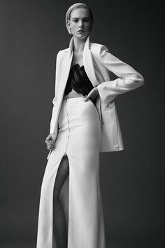 Mugler/black, white, tailored,optical