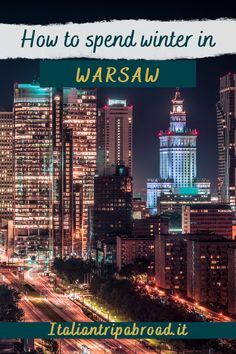 How to spend winter in Warsaw