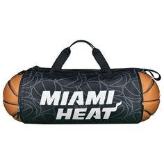 Miami Heat Basketball to Duffle Bag