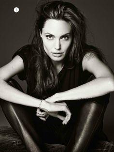 I love Angelina Jolie. There I said it.