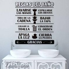 Star Wars Stencil, Motivational Phrases, House Rules, Wall Stickers Home Decor, Bathroom Art, Learning Spanish, Feng Shui, Ideas Para, Slogan