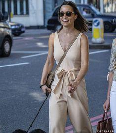 Pippa Middleton Cream Jumpsuit