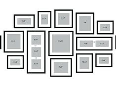picture frames on wall layouts. picture frames on wall layouts. frame wall collage layout ideas, showing gallery for framed . Frame Wall Collage, Frames On Wall, Wall Frame Layout, Diy Picture Frames On The Wall, Frame Collages, Family Wall Collage, Picture Frame Layout, Hanging Pictures On The Wall, Best Photo Frames