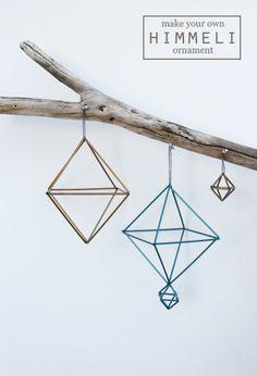 myLifebox: DIY | Straw Himmeli Ornaments