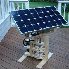 Solar Tracker in the Internet Cloud More