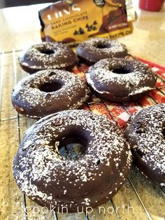 cookin' up north: Weight Watchers 3 pt Lilly's Chocolate Chip Donut Weight Watchers Meal Plans, Weight Watchers Breakfast, Weight Watchers Diet, Weight Watchers Desserts, Weight Watchers Muffins, Ww Desserts, Healthy Desserts, Dessert Recipes, Healthy Donuts