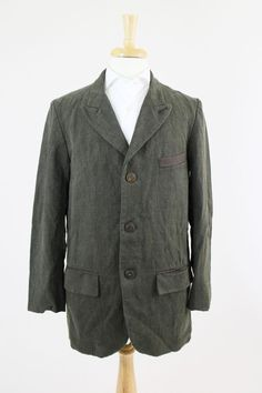 Freemans Sporting Club Linen Sack Jacket