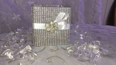 wedding table bling - Google Search