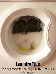 I needed these laundry tips to make my laundry day run more smoothly