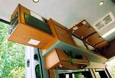 Sportsmobile offers 50 camper van plans or will customize to meet your camping/travel needs, since 1961. Two (2) and four (4) wheel drives, gas and diesel vans. Just the right size. Second home/second car.