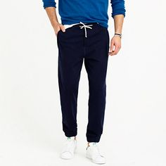 "Wears like sweats. Looks like pants. Your weekend uniform just got an upgrade. <ul><li>Slim fit.</li><li>28 1/2"" inseam.</li><li>Cotton.</li><li>Slant pockets.</li><li>Machine wash.</li><li>Import.</li></ul>"