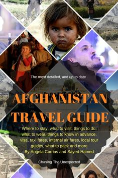 A travel guide to Afghanistan that shows where to go and what to visit in this beautiful country, the Afghan life, the Afghan people including essential tips on safety in Afghanistan.