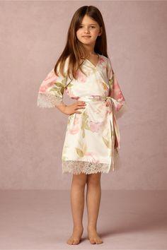 mini me   Garden Girl Robe from BHLDN