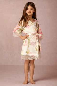 mini me | Garden Girl Robe from BHLDN