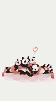 Pandas Panda Wallpaper Iphone, Cute Panda Wallpaper, Panda Wallpapers, Bear Wallpaper, Cute Wallpaper Backgrounds, Animal Wallpaper, Cute Cartoon Wallpapers, Panda Love, Panda Bear