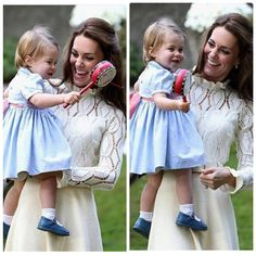 kate and charlotte-mother and daugther having fun!!