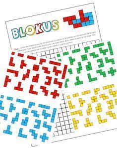 Blokus - Version imprimable -