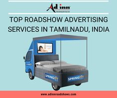 When it comes to roadshow advertising, it has certain advantages over digital advertising since there are numerous ad blockers active online. It is also difficult to stand out in a digital space since the users are bombarded with lot of options. Many Top Roadshow Advertising Services in Tamilnadu, India invest hugely on media buying. Advertising Services, Investing, Toddler Bed, Things To Come, India, Ads, Space, Digital, Stuff To Buy