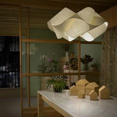The Swirl Pendant Light is a ingenious light fixture that is delicate yet striking as well as elegant yet enigmatic. http://www.ylighting.com/lzf-lamps-swirl-pendant-light.html