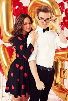 Tom Fletcher from Mcfly and his wife, Giovanna. THEY ARE SO ADORABLE.