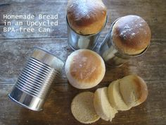 Homemade Bread In An Up-Cycled Can Recipe