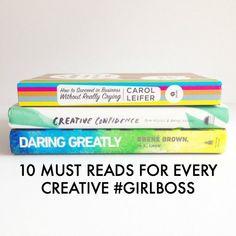 10 Must Reads for Every Creative #girlboss // Creative Books