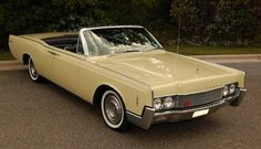 1966 Lincoln Continental...a tiny bit past the prime design, but still cool!
