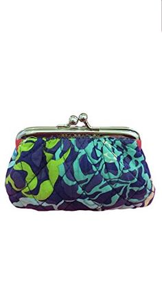 Vera Bradley Kiss Coin Purse in Katalina Blues    See this great product. ( 891f4c3a84abf