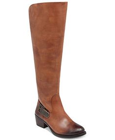 Vince Camuto Shoes, Bedina Wide Calf Knee-High Boots @Jenn L Anderson