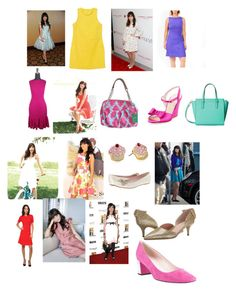 """Le M Jazmine"" by kellydbailey on Polyvore featuring Zooey and Kate Spade"