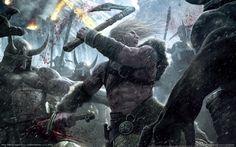 viking battle for asgard  widescreen retina imac