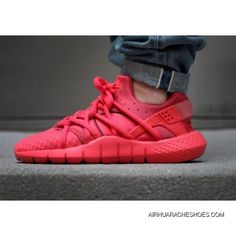 c0d1d71dc9c2d 2015 Mens Huaraches Shoes Nike Air Huarache 2 Nm All Red Sneakers New  Release