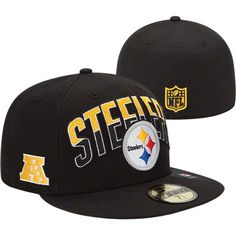 Pittsburgh Steelers New Era 2013 NFL Draft 59FIFTY Black Hat Pittsburgh  Steelers Merchandise 9fc470054