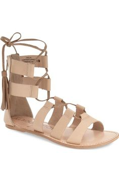 Sole Society 'Calla' Gladiator Sandal (Women) available at #Nordstrom