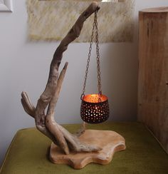 Easy woodworking projects for gifts, Driftwood Lamp, Driftwood Projects, Wood Lamps, Driftwood Ideas