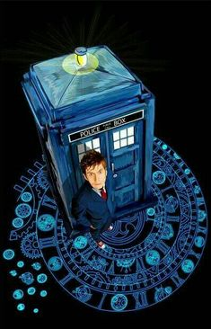DOCTOR 10 AND THE TARDIS