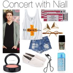 """""""Concert with Niall"""" by erinlooovesyou on Polyvore"""