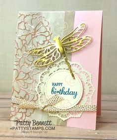 Stampin' Up! Falling in Love Suite Anniversary Card Idea   Patty's Stamping Spot   Bloglovin'