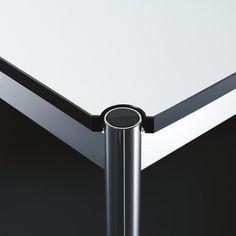 USM Haller Tisch B 1750 - Kunstharz perlgrau