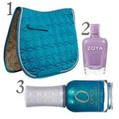 Round-Up: Saddle Pads and Nail Polish! | Cavalcade Equestrian Fashion and Culture