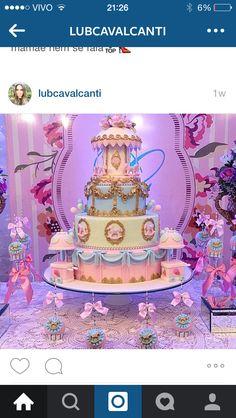 Carousel Cake, Carousel Party, Carousel Birthday Parties, 1st Birthday Parties, Birthday Cake, Fancy Cakes, Cute Cakes, Ballerina Cakes, Birthday Design