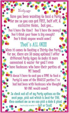 I love Thirty-One! www.mythirtyone.com/280406  and join my facebook group https://www.facebook.com/groups/277774192345051/