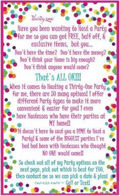 Thirty one Secret Santa ideas Thirty One Hostess, Thirty One Games, Thirty One Party, 31 Party, Host A Party, Thirty One Facebook, Initials Inc, Thirty One Organization, Thirty One Consultant