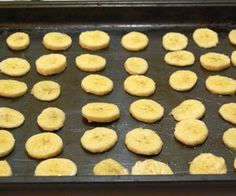 Baked banana chips - great for toddler snacks! (scheduled via http://www.tailwindapp.com?utm_source=pinterest&utm_medium=twpin&utm_content=post17300596&utm_campaign=scheduler_attribution)