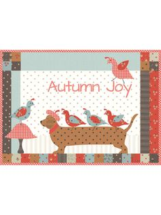This little dachshund is busy giving out free rides (just to his quail friends of course). This mini charm pack-friendly project is the perfect mini quilt for your fall collection. It uses fun applique and is the perfect size quilt for that tiny wall. Annie's Crochet, Crochet Crafts, Mini Quilt Patterns, Sewing Patterns, Bead Kits, Charm Pack, Easy Quilts, Fall Collections, Knitting Yarn