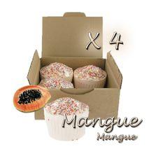 ✭ Bombe de bain muffin mangue - Boîte X 4 ✭