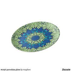 #1037 porcelain plate