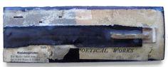Original Fine Art Encaustic Wax Collage on Salvaged Wood by Crystal Neubauer